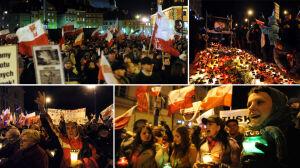 Marsz Pamięci na [br]Krakowskim Przedmieściu