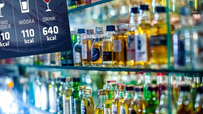 Kalorie na opakowaniach alkoholi