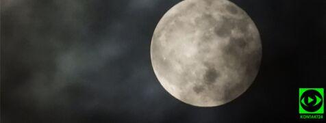 Pełnia Księżyca w obiektywie Reporterów 24