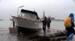 Acqua alta w Wenecji (PAP/EPA)