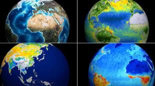 Różne oblicza Ziemi z Kosmosu. Zobacz wyjątkową animację
