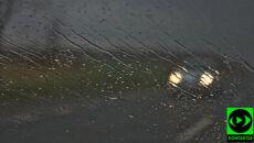 Na wschodzie do 5 l/mkw. deszczu. Jedźcie ostrożnie