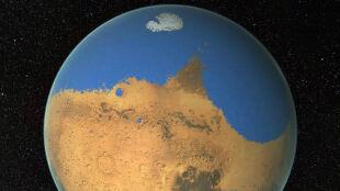 Na Marsie więcej wody niż w Oceanie Arktycznym