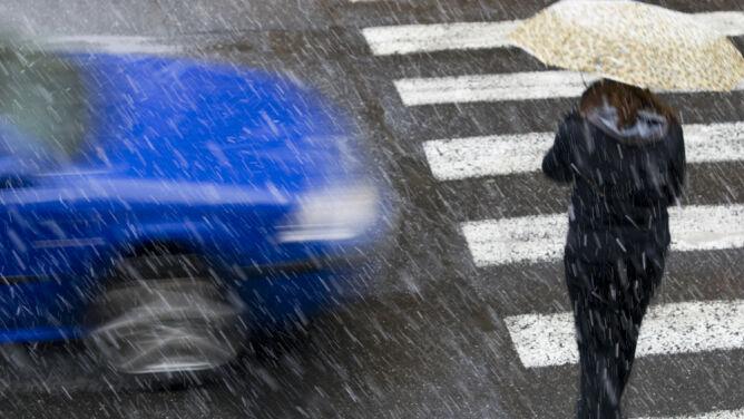Pogoda na dziś: zimowe opady w wielu regionach. Do 7 stopni Celsjusza