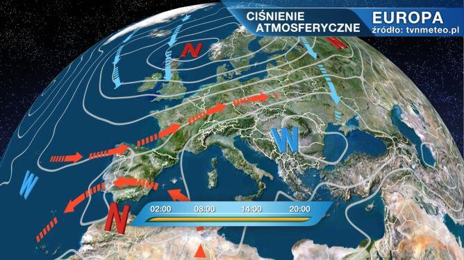 Lisabeth kształtuje pogodę w Polsce