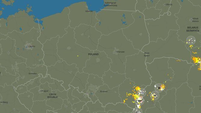 Burzowa niedziela w Polsce. Sprawdź, gdzie grzmiało