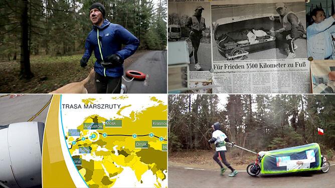 W dzień przebiega maraton, w rok kulę ziemską