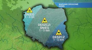 Warunki drogowe w środę 6.01